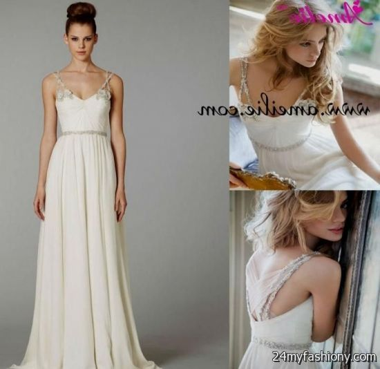 Beach Wedding Dresses Casual Cotton 47