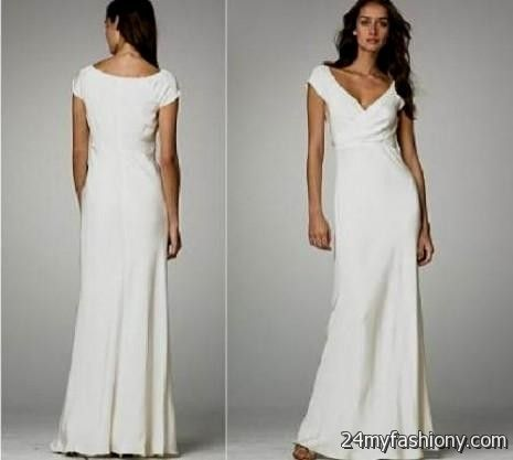 Beach Wedding Dresses Casual Cotton 2