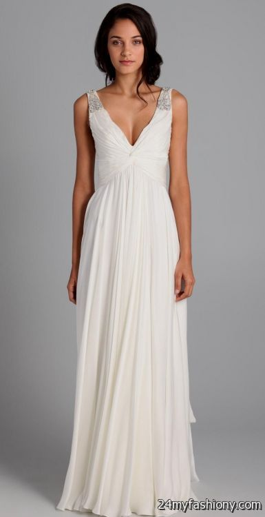 Beach Wedding Dresses Casual Cotton 40