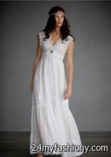Casual Cotton Beach Wedding Dresses
