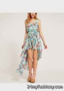 Casual floral dresses for teenagers