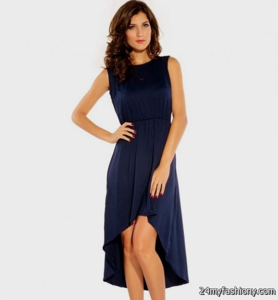 casual high low dresses blue 2016-2017 » B2B Fashion