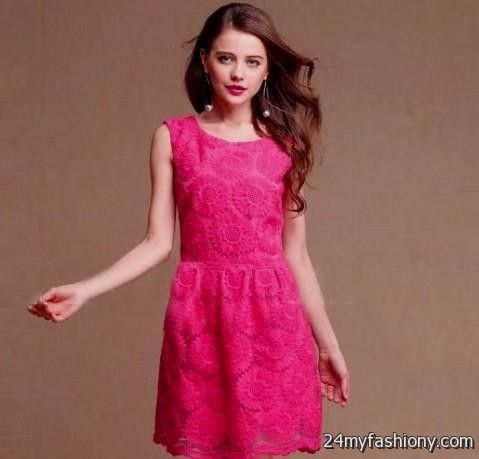 casual pink dresses for women 2016-2017 » B2B Fashion