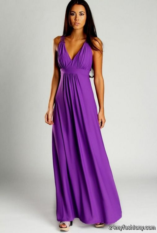 e5b6926015f You can share these casual purple maxi dress on Facebook