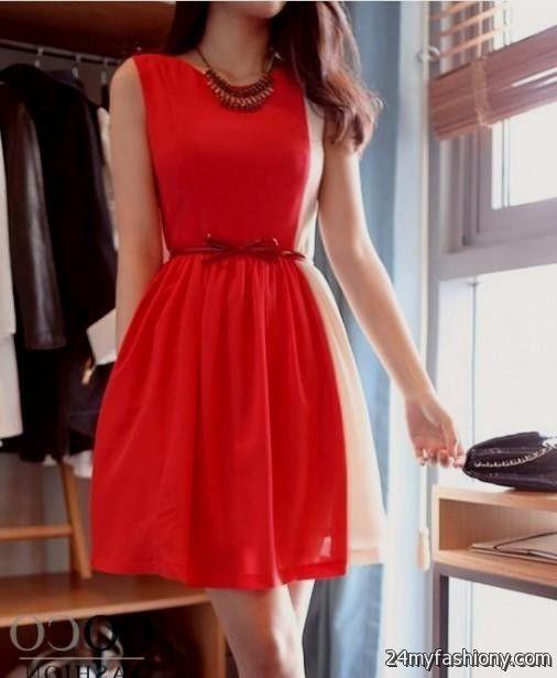 casual red dress 2016-2017 » B2B Fashion