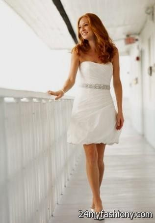Casual Short Beach Wedding Dresses - Ocodea.com