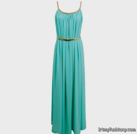 casual turquoise dress 20162017 b2b fashion