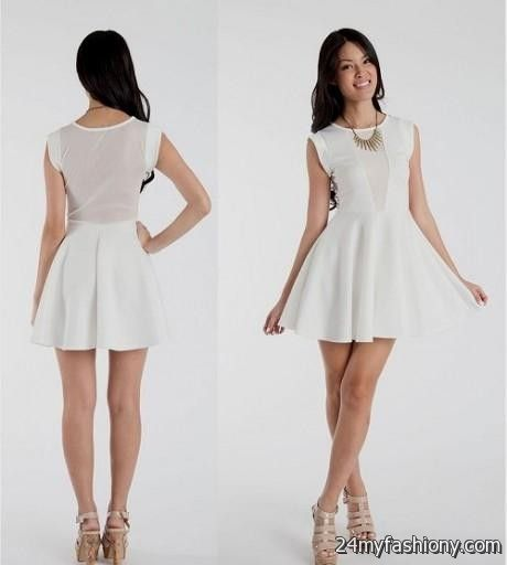 casual white dresses for girls   Gommap Blog