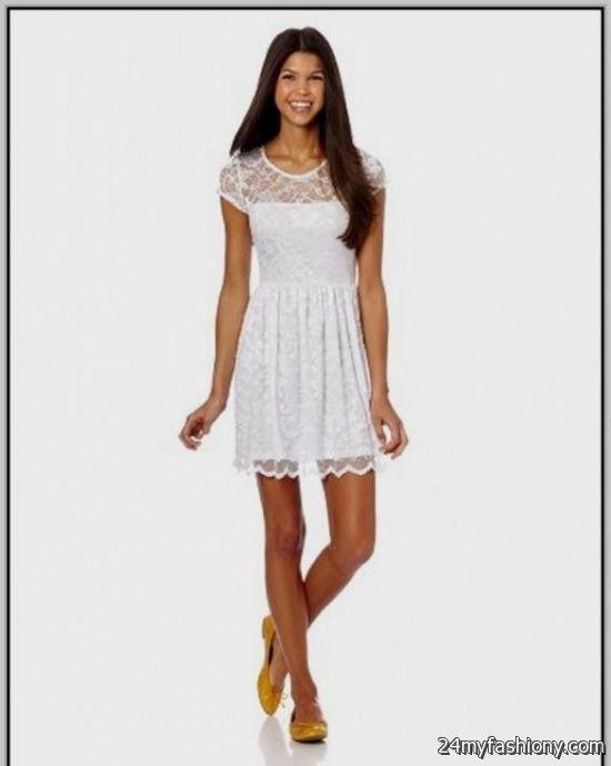 casual white dresses for girls 2016-2017 » B2B Fashion