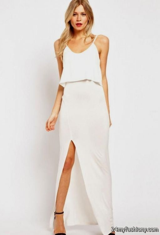 casual white maxi dresses 2016-2017 » B2B Fashion