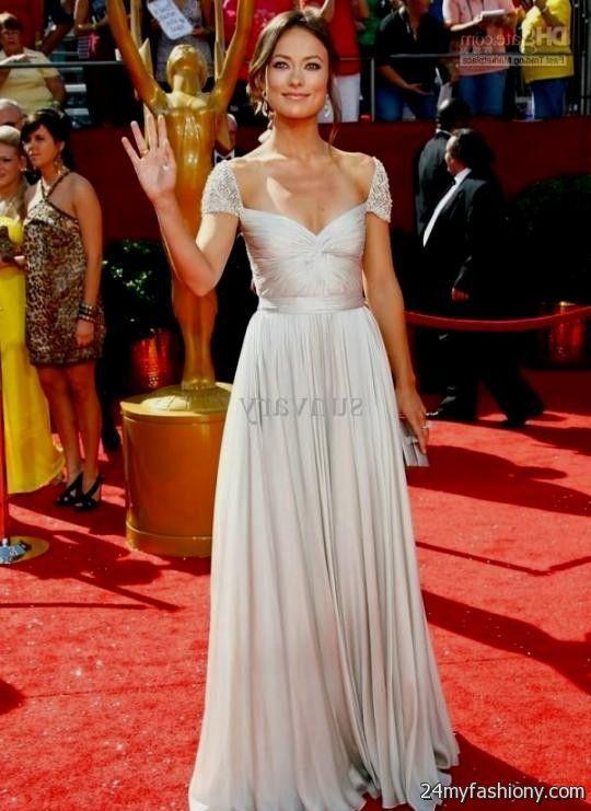 Celebrity Long Dresses 2017 22