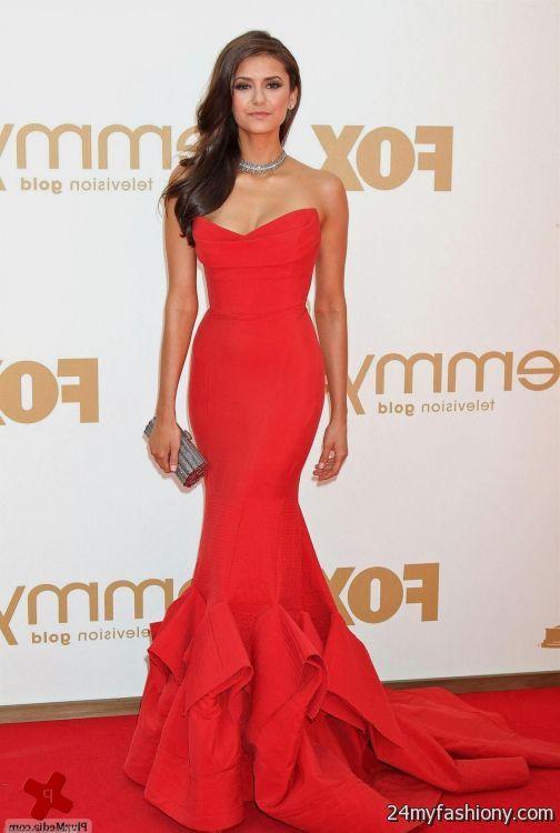 Celebrity Red Carpet Fashion 2017 Plus Size Prom Dresses