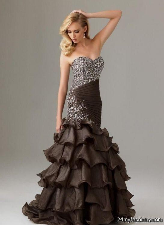 chocolate brown prom dresses 2016-2017 » B2B Fashion