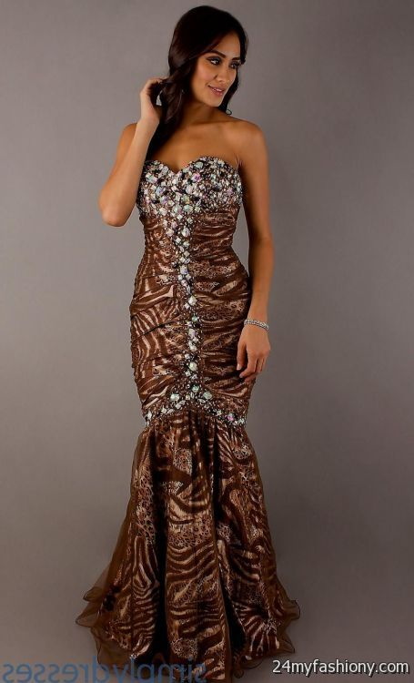Chocolate Brown Prom Dresses Looks B2b Fashion