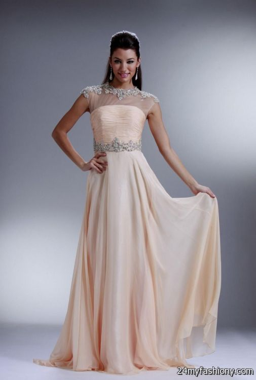 Fashion style Prom sophisticated dresses for girls