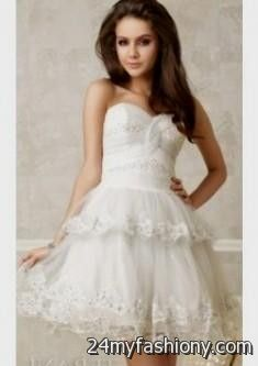 f03e8f411d You can share these classy white cocktail dresses on Facebook