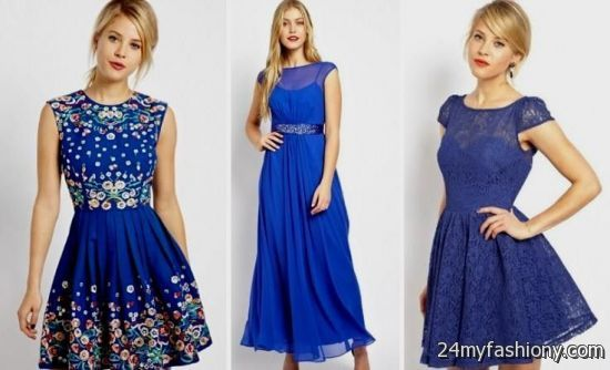 cobalt blue lace bridesmaid dresses 2016-2017 » B2B Fashion