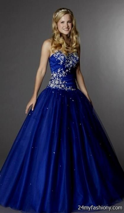 Cobalt Blue Prom Dress Looks B2b Fashion