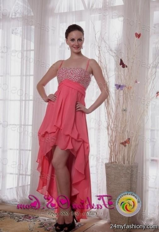 coral dama high low dresses 2016-2017 » B2B Fashion