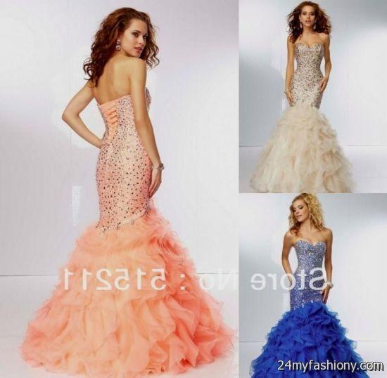 coral mermaid prom dresses 2016-2017 » B2B Fashion