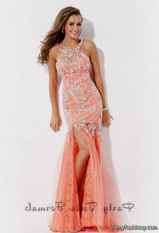 e45c0ee504d Look your best in these sexy prom dresses! Pin it. Like! You can share  these coral prom dresses tumblr on Facebook ...