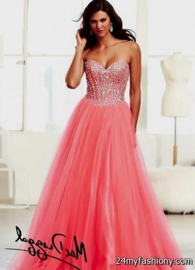 coral prom dresses tumblr 2016-2017 | B2B Fashion