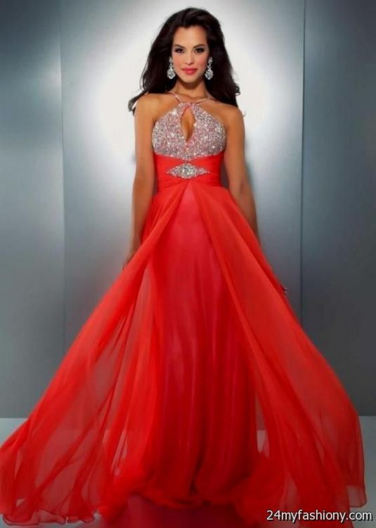 coral prom dresses with sleeves 2016-2017 | B2B Fashion