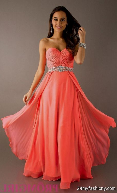 Coral Wedding Dresses Ejn Dress