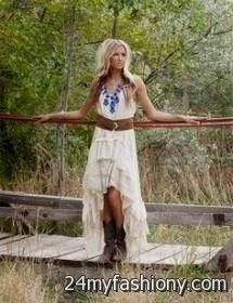 Cowgirl Dresses for Prom