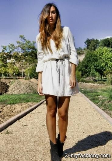 Cowgirl Dresses With Boots Looks B2b Fashion