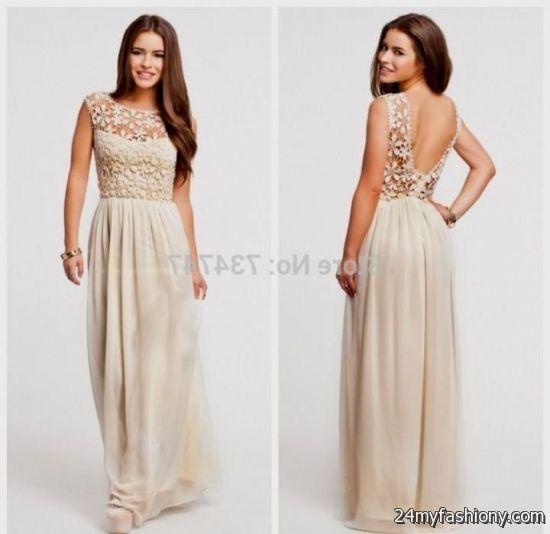 cream and black prom dresses 2016-2017 » B2B Fashion