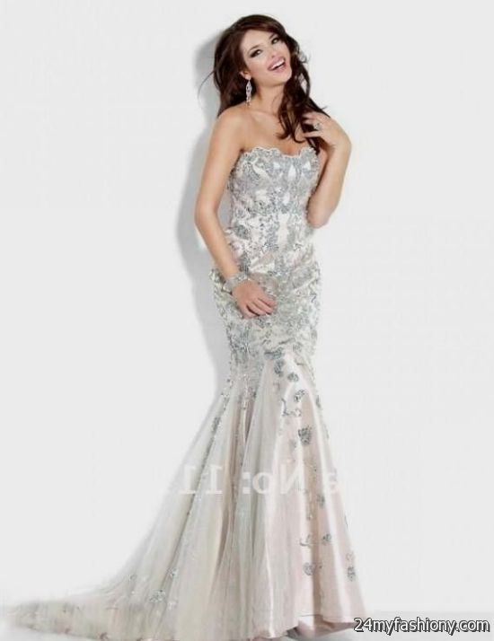cream mermaid prom dress 2016-2017 » B2B Fashion