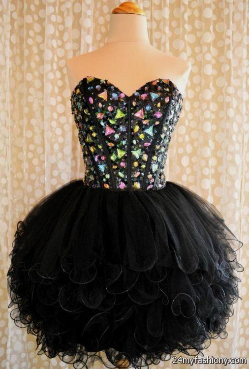 cute black prom dresses tumblr looks | B2B Fashion