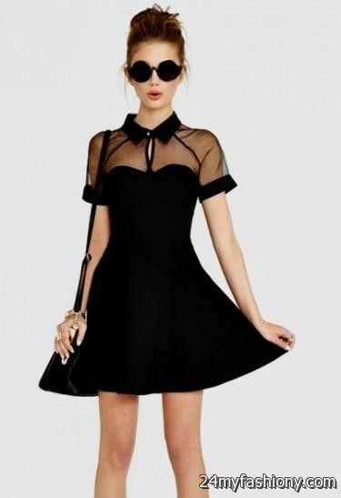 cute black winter formal dresses 2016-2017 » B2B Fashion