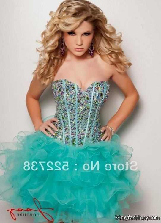cute blue prom dresses 2013
