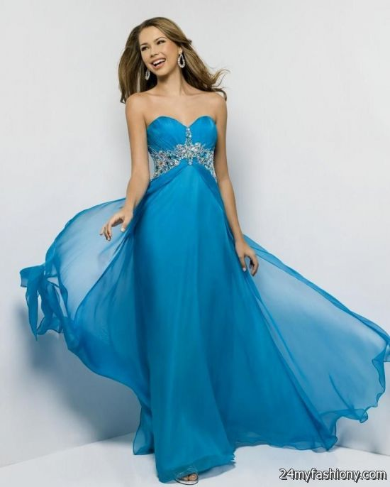 cute blue prom dresses 20162017 b2b fashion