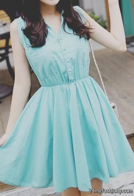 Cute blue dresses tumblr 2017