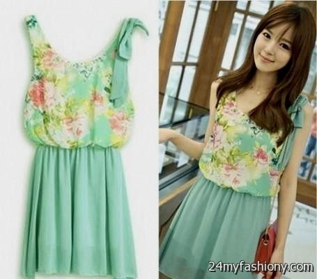 Cute Casual Summer Dresses Photo Album - Reikian