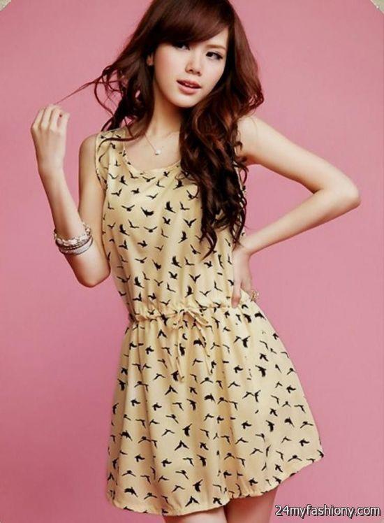 Cute korean dresses for girls 2017-2018 | B2B Fashion