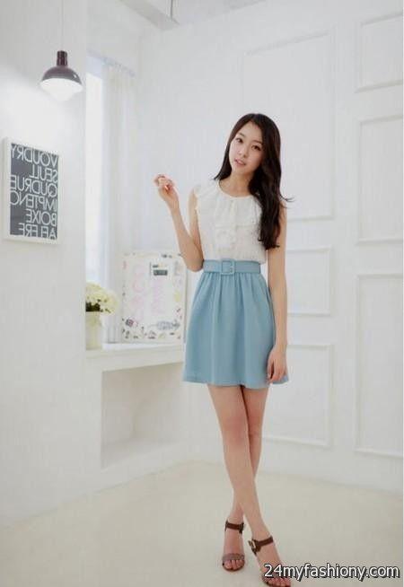 Cute Korean Dresses Online 2016 2017 B2b Fashion