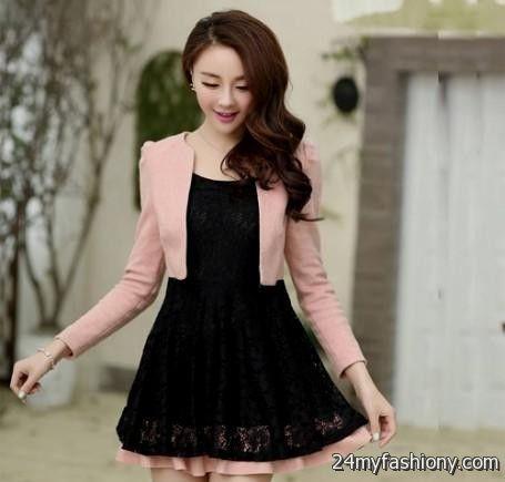 Korean fashion prom dress 27