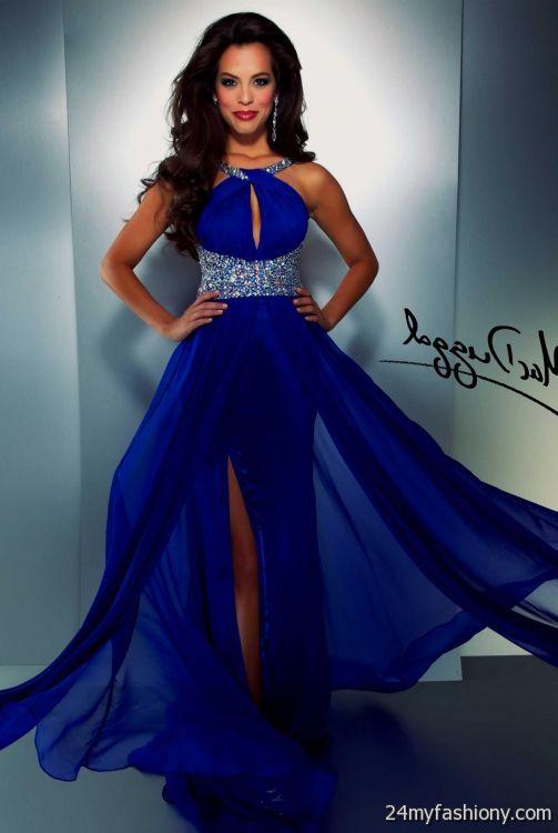 Cute Midnight Blue Prom Dresses Looks B2b Fashion