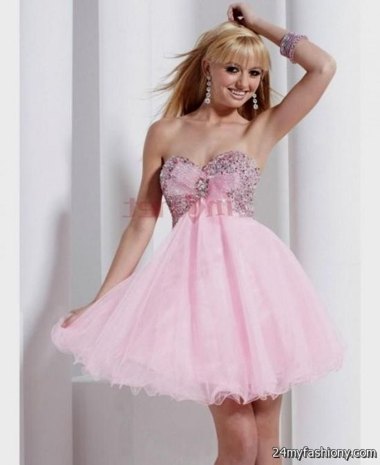 cute pink prom dresses wwwimgkidcom the image kid
