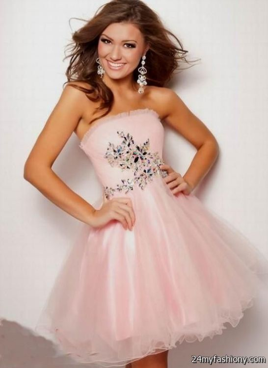 cute pink prom dresses 20162017 b2b fashion