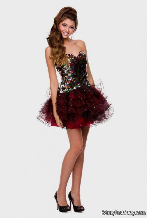 Cute Black Prom Dresses 2015