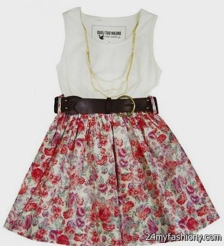 cute spring floral dresses 2016-2017 » B2B Fashion