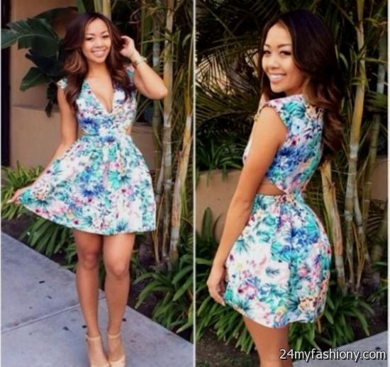 Floral dresses spring 2017 you can share these cute spring floral dresses on facebook stumble upon my space mightylinksfo