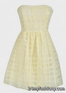 Tween Strapless Dresses