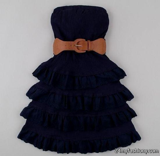 Cute summer strapless dresses