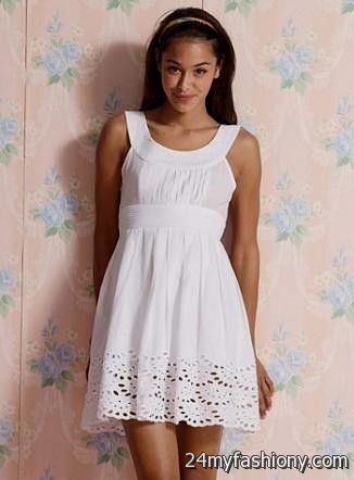 You Can Share These Cute White Dresses For Summer On Facebook Stumble Upon My E Linked In Google Plus Twitter And All Social Networking Sites
